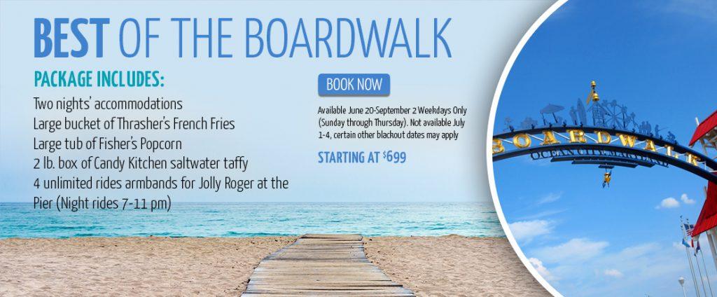 Best of the Boardwalk Package